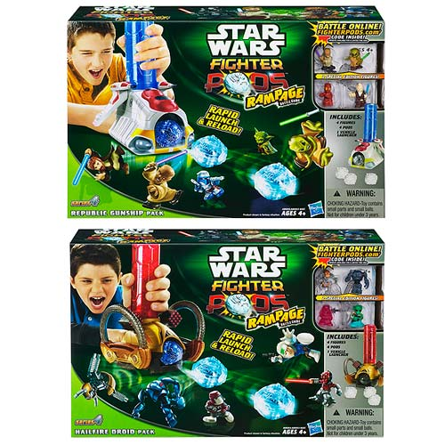 Star Wars Fighter Pods Series 4 Rampage Launchers Wave 1
