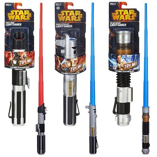 Star Wars Basic Extended Lightsaber Wave 1 Revision 3 Case