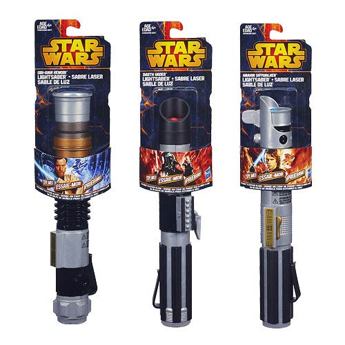 Star Wars Basic Extended Lightsaber Wave 1 Revision 1 Case