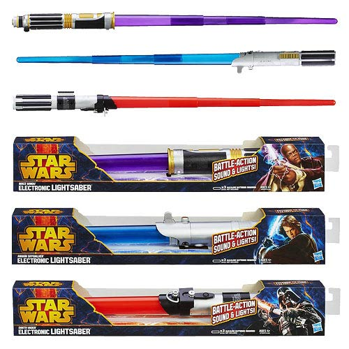 Star Wars Movie Electronic Lightsabers 2013 Wave 1