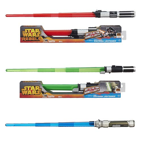 Star Wars Movie Electronic Lightsabers Wave 2 Set
