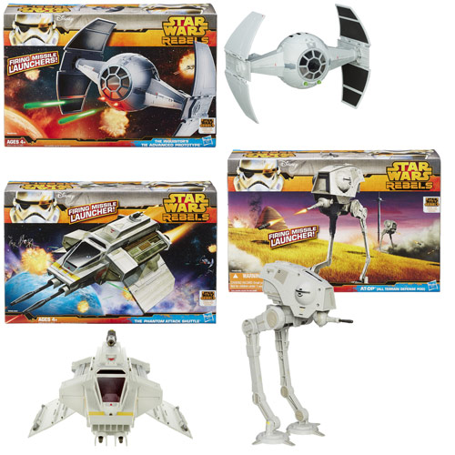 Star Wars Class II Attack Vehicles Wave 4