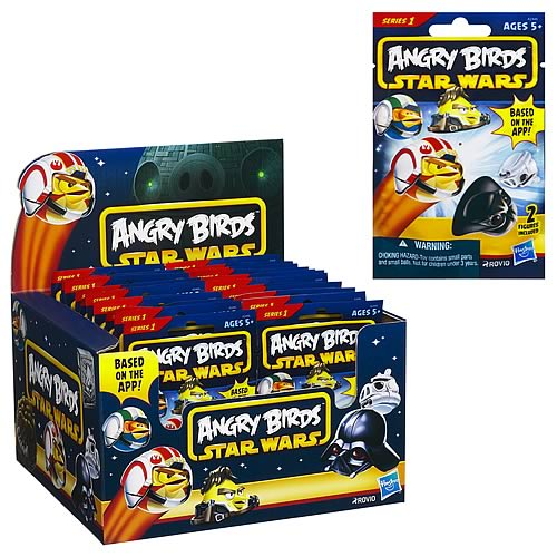 Star Wars Angry Birds Mystery Bags Wave 1 Case