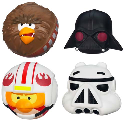 Star Wars Angry Birds Foam Flyers Figures Wave 1