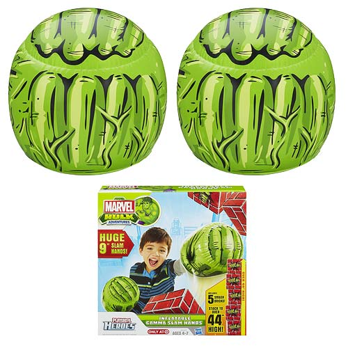 Marvel Hulk Adventures Inflatable Gamma Slam Hulk Hands