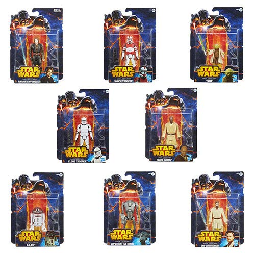 Star Wars Saga Legends Action Figures Wave 1 Case