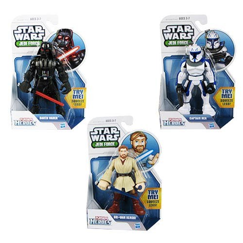 Star Wars Jedi Force Action Gear Action Figures Wave 1
