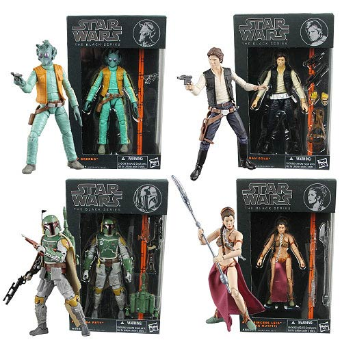 Star Wars Black Series 6-Inch  Action Figures Wave 2 Case