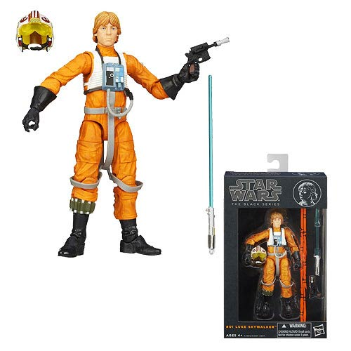Star Wars Black Series Luke Skywalker 6-Inch Action Figure