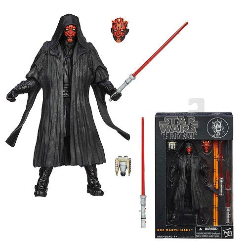 Star Wars Black Series Darth Maul 6-Inch Action Figure