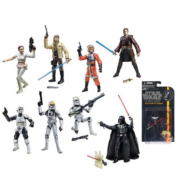 Star Wars Black Series 3 3/4-Inch Action Figures Wave 1 Case