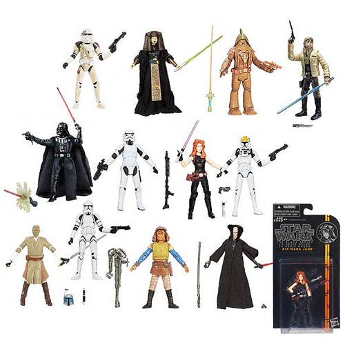 Star Wars Black Series 3 3/4-Inch Action Figures Wave 3 Case