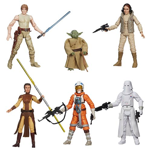 Star Wars Black Series 3 3/4-Inch Action Figures Wave 4 Set