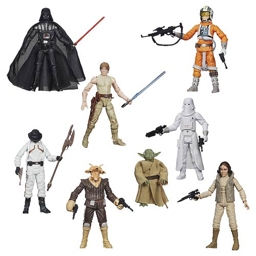 Star Wars Black Series 3 3/4-Inch Action Figures Wave 5 Case