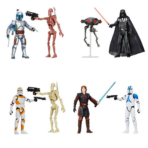 Star Wars Mission Series Action Figures Wave 1 Case