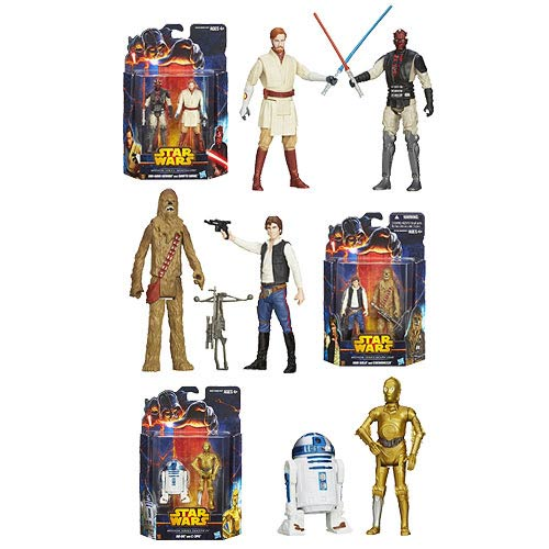 Star Wars Mission Series Action Figures Wave 2 Case