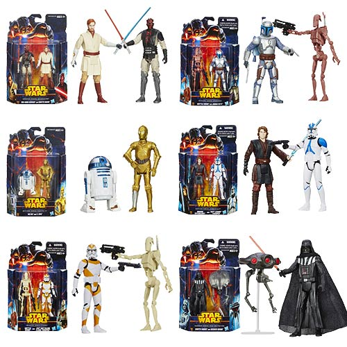 Star Wars Mission Series Action Figures Wave 2 Rev. 1 Case