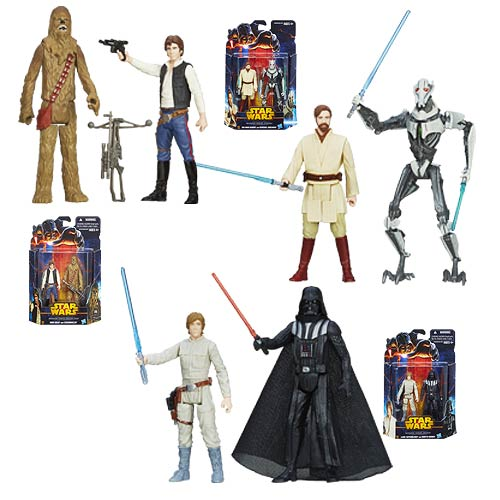 Star Wars Mission Series Action Figures Wave 3 Rev. 1 Set