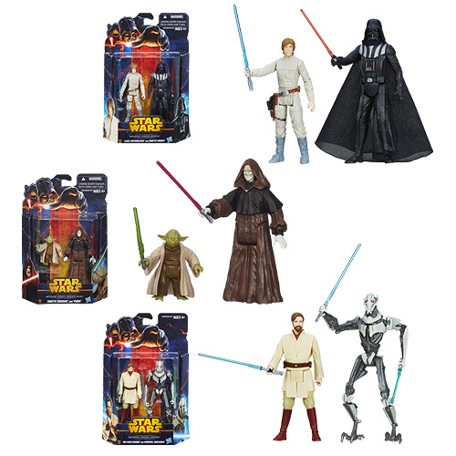 Star Wars Mission Series Action Figures Wave 3 Case