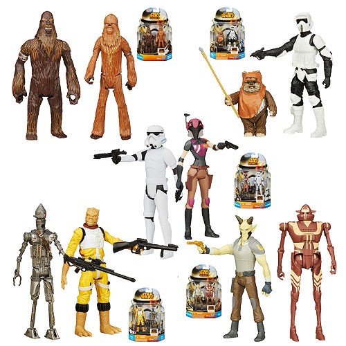 Star Wars Mission Series Action Figures Wave 5 Case
