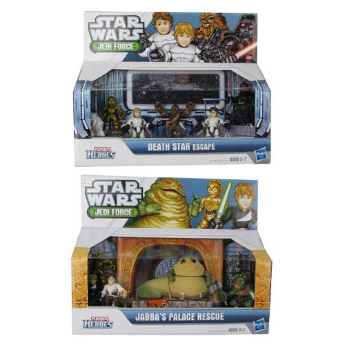 Star Wars Jedi Force Adventure Packs Wave 1