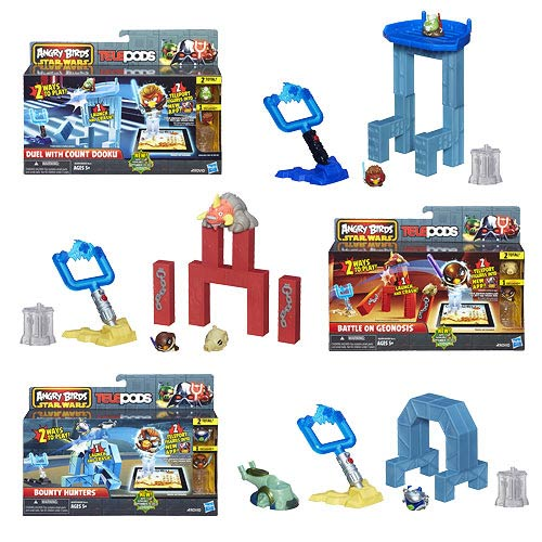 Star Wars Angry Birds Strike Back Telepods Playset Wave 1