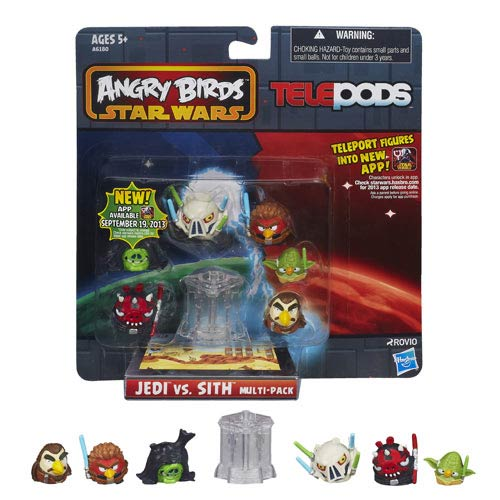 Star Wars Angry Birds Telepods Jedi vs. Sith Multipack
