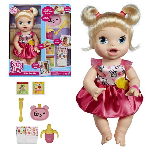 Baby Alive My Baby All Gone Doll Blonde Hasbro Baby
