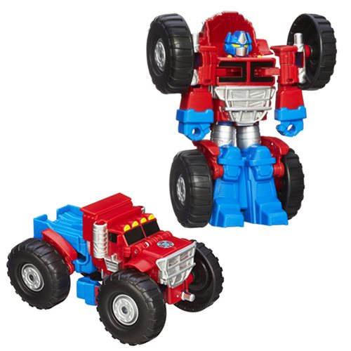 Transformers Rescue Bots Optimus Prime Monster Truck