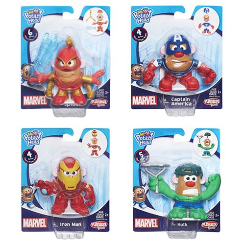 Marvel Mash Ups Mr. Potato Heads Minis Wave 3