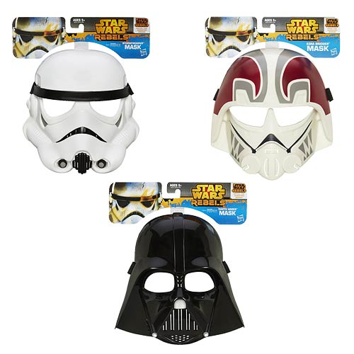 Star Wars Rebels Masks Wave 1