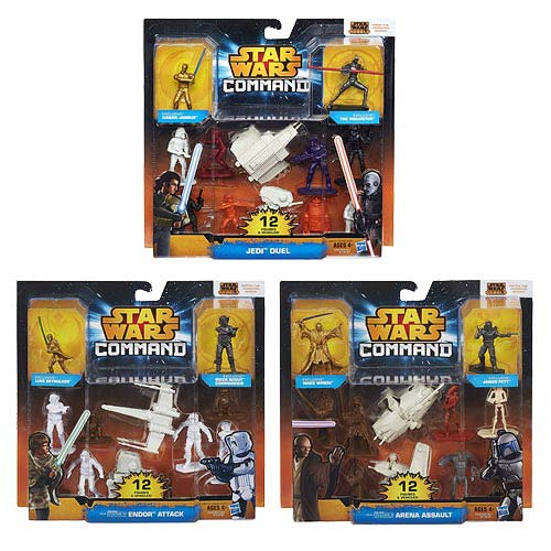 Star Wars Command Battles Figures Versus Packs Wave 1