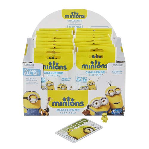 Despicable Me Minion Challenge Card Game with