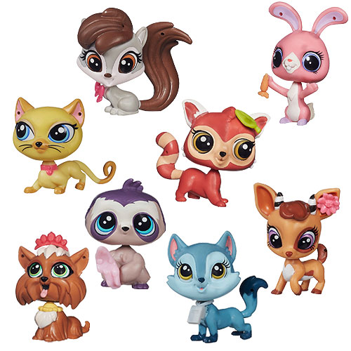 Littlest Pet Shop Singles Combo Wave 2 Case Hasbro Mini Figures At