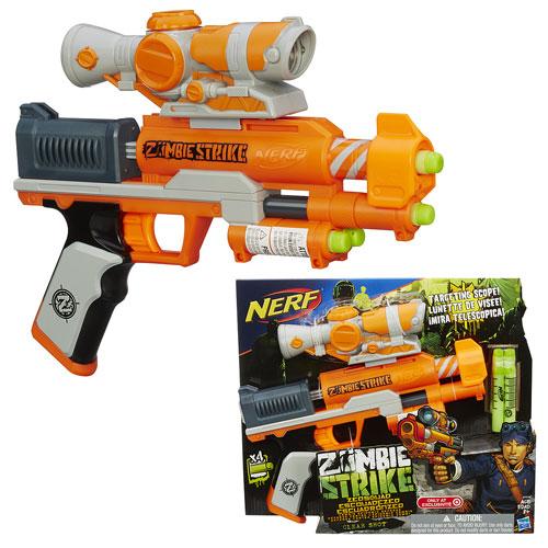 Nerf Zombie Strike Clear Shot Blaster