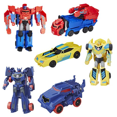 Transformers Robots in Disguise Hyper Change Heroes Wave 14