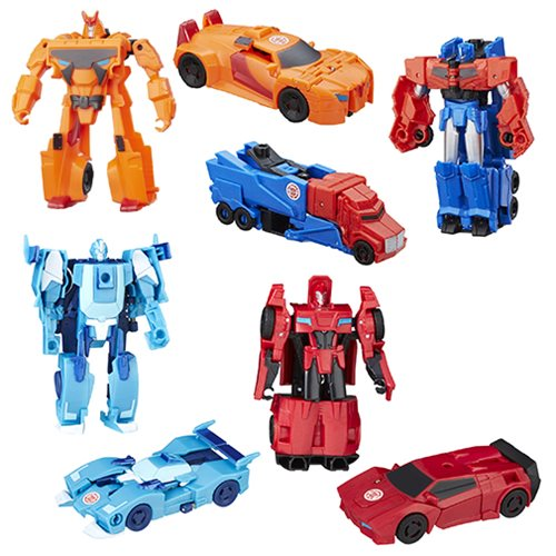 Transformers Robots in Disguise 1-Step Changers Wave 14 Set