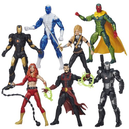 Avengers Marvel Legends Action Figures Wave 3 Case