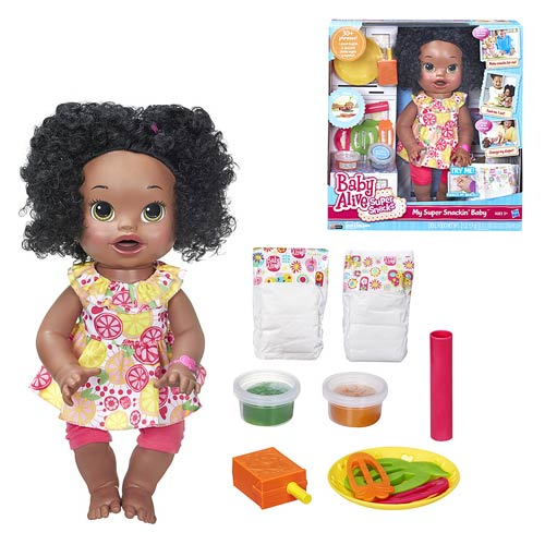 Baby Alive My Super Snackin Baby Doll (African-American)