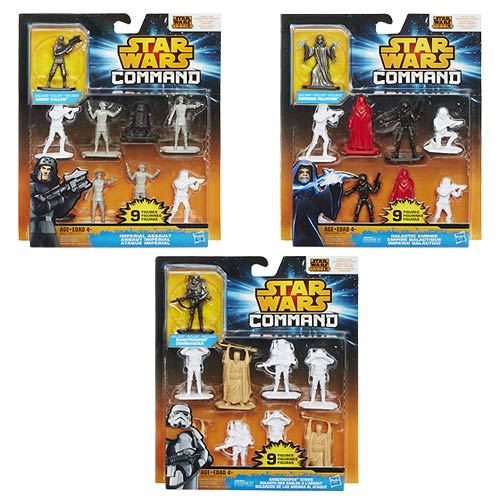 Star Wars Rebels Command Battles Figures Wave 1 Set