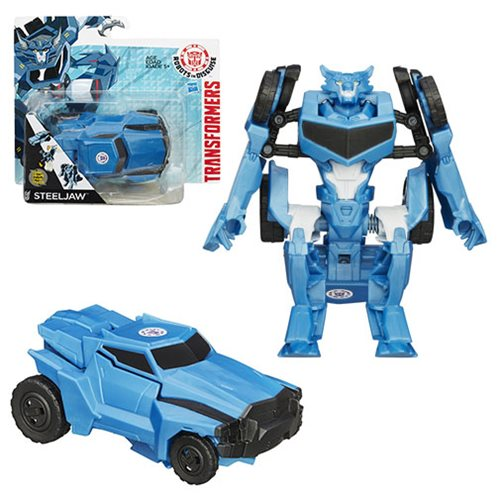 Transformers Robots in Disguise One-Step Steeljaw