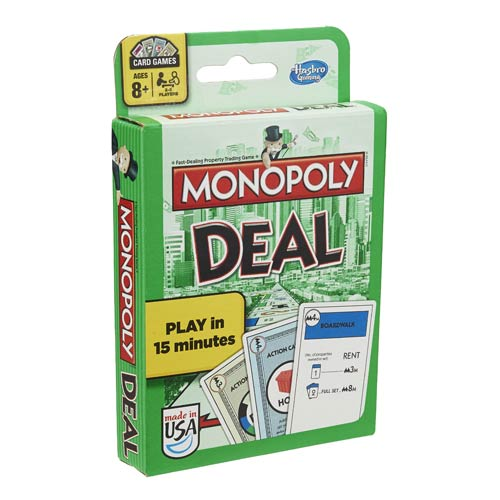 Monopoly Deal Card Game, Not Mint