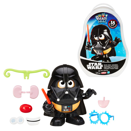 Star Wars Darth Tater Mr. Potato Head Container