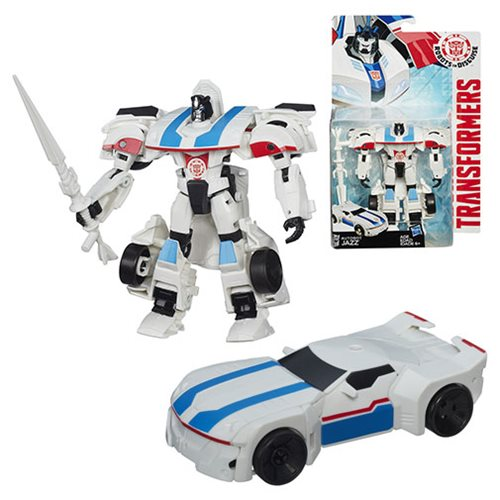 Transformers Robots in Disguise Warrior Autobot Jazz