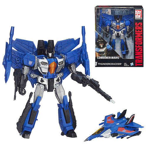 Transformers Combiner Wars Leader Thundercracker, Not Mint