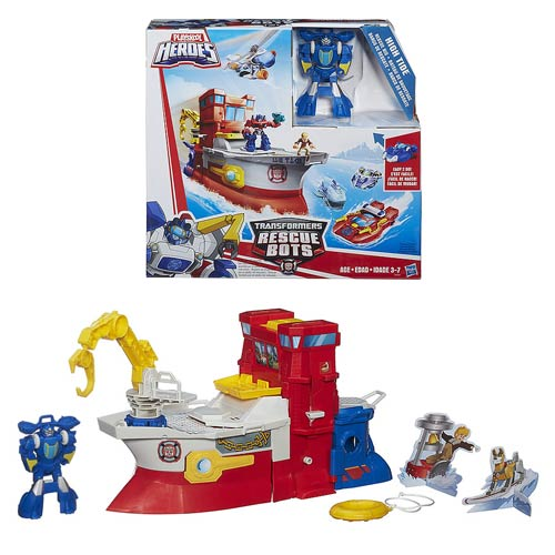 Transformers Rescue Bots High Tide Rescue Rig
