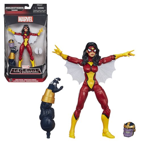 Avengers Marvel Legends Spider-Woman Action Figure
