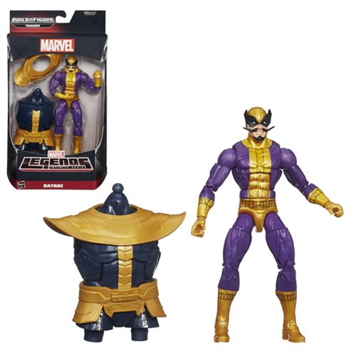 Collect all six super-articulated Hasbro action figures (sold separately) to collect and connect the Mad Titan, Thanos! Includes one 6-inch scale action figure with awesome articulation and amazing detail! Open all the figures for variant hands and different heads for your very own Thanos 6-inch scale action figure! The biggest, baddest, and most Marvel-ous heroes on the planet are here! Avengers Marvel Legends Comic Batroc Action Figure brings you a 6-inch scale baddie that's fully articulated and comes with the best facial hair yet! Don't miss this one.