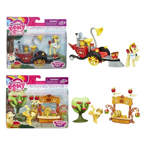 My Little Pony Friendship Is Magic Figure Scene Pack Wave 1 ...