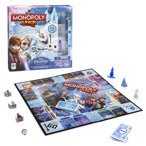 Frozen Edition Monopoly Junior Game